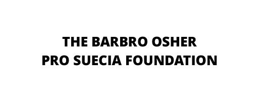 The Barbro Osher Pro Suecia Foundation